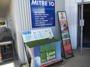Lawn Block at Mitre 10 Boonah