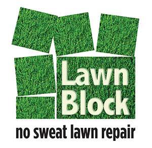 Lawn Block Retina Logo