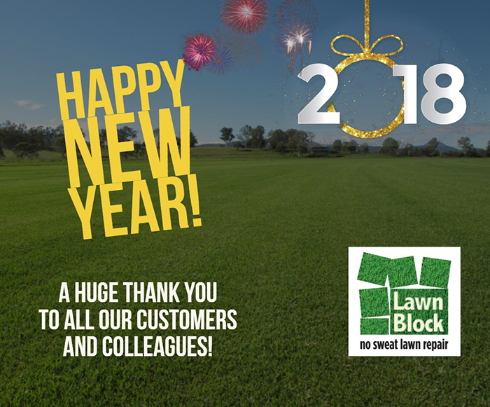 Happy New Year From Lawn Block
