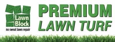 Lawn Repair - Lawn Block External Sign